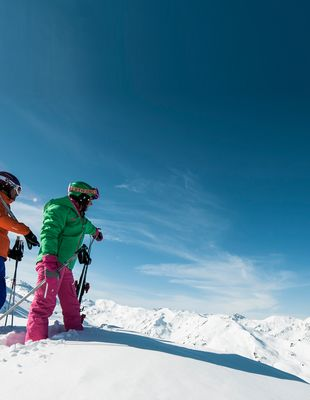 Freestyling and ski tours in the Zillertal Arena